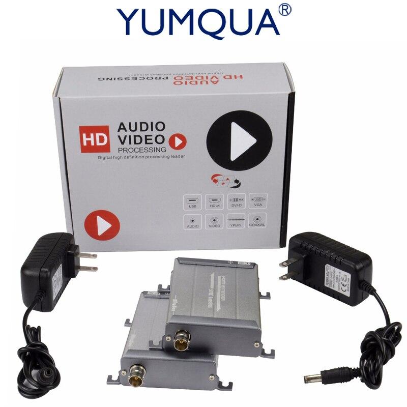 YUMQUA HDMI удлинитель 200 м без задержки 1080 P без потерь HDMI, Овер один RG59/RG 6U DVR DVD коаксиальный кабель удлинитель HSV379 дома Театр