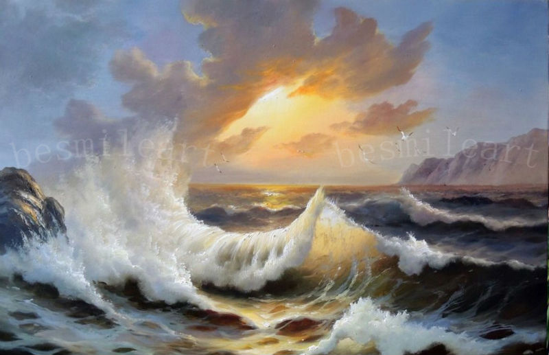 How To Oil Paint A Sunset