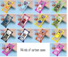 15d4d119795 Cute Cartoon Silicone Universal Cell Phone Cases For fly iq4418 iq400w  iq436i iq4400 FS501 FS451 FS401