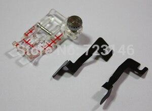 Швейная ножка сделана в Японии Janome Clear View Quilting Foot And Guide Set-Snap-on(200449001) Высокое качество