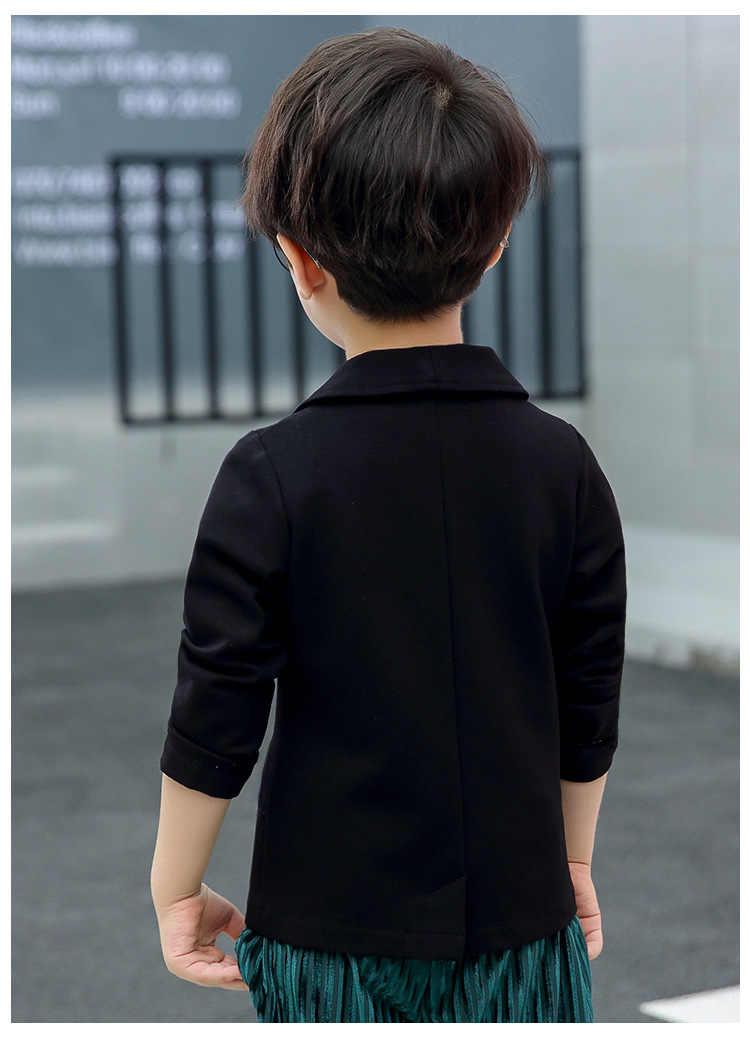 Новый дизайн, строгие блейзеры для мальчиков, детский модный весенний Блейзер, куртка для девочек, детские строгие свадебные костюмы, Блейзер, куртка для мальчиков