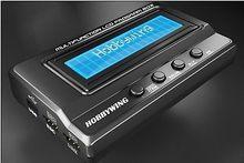 Hobbywing caja de programador LCD multifunción, adaptador integrado con USB, voltímetro 3/1 para coche ERUN y EZRUN