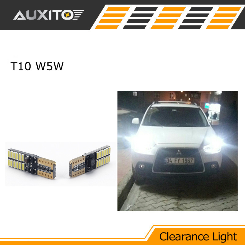 2X T10 LED W5W Car LED Clearance Light Parking For chevrolet cruze aveo lacetti cruz niva spark orlando epica sail sonic lanos