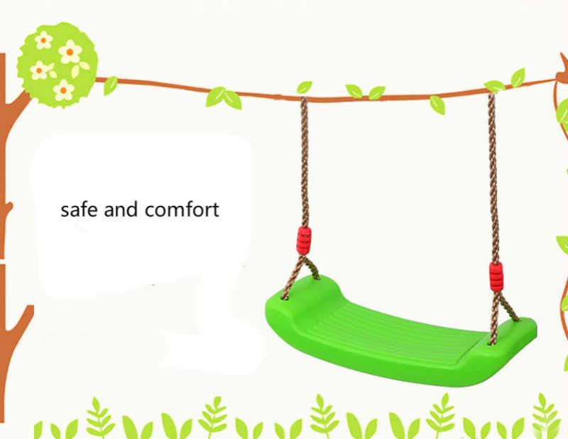 Домашний Детский качалка на открытом воздухе, гамак-качалка для детей, крепкая безопасность, противоскользящие качели, красочный отдых, Fitnes