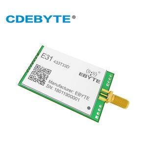 Image 2 - E31 433T33D AX5043 UART 433 mhz 2W SMA Antena de Longo Alcance Monte uhf Transceptor Sem Fio 433 mhz Receptor Transmissor rf módulo