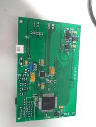 TDC-GP22 Ultrasound Water Meter Debugging Development Board with Sectional LCD Display