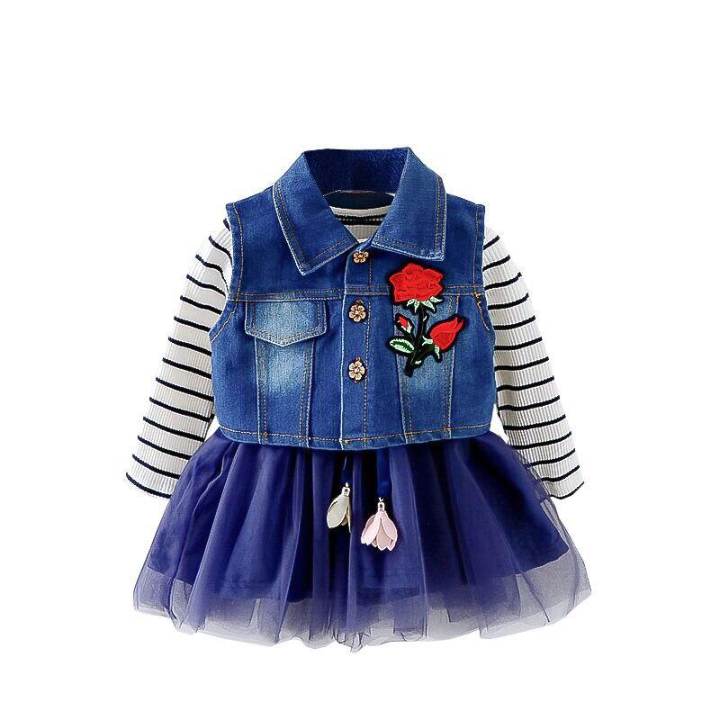 Mutter & Kinder Casaco Infantil Baby Mantel Outwear Roupa Infantil Feminina Nette Baby Jacke Infant Mädchen Hoody Strickjacke Graben Mantel Großhandel