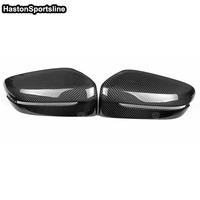 For BMW 6 Series GT G32 Carbon Fiber Car Outside Wing Mirror Trim Mirror Cover 2017UP 3M