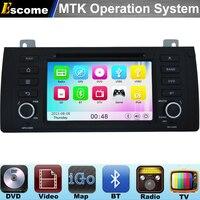 MTK3360 Car DVD Automotivo Cho BMW X5 E53 2000-2007 BMW 5 Series E39 1996-2003 BMW M5 với Đài Phát Thanh Stereo GPS Navigation