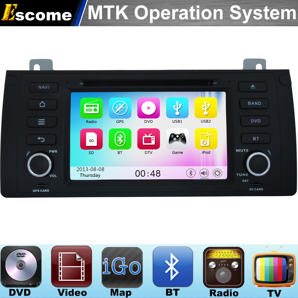 MTK3360 Car DVD Automotivo For BMW X5 E53 2000 - 2007 BMW 5 Series E39 1996 - 2003 BMW M5 with Radio Stereo GPS Navigation цена