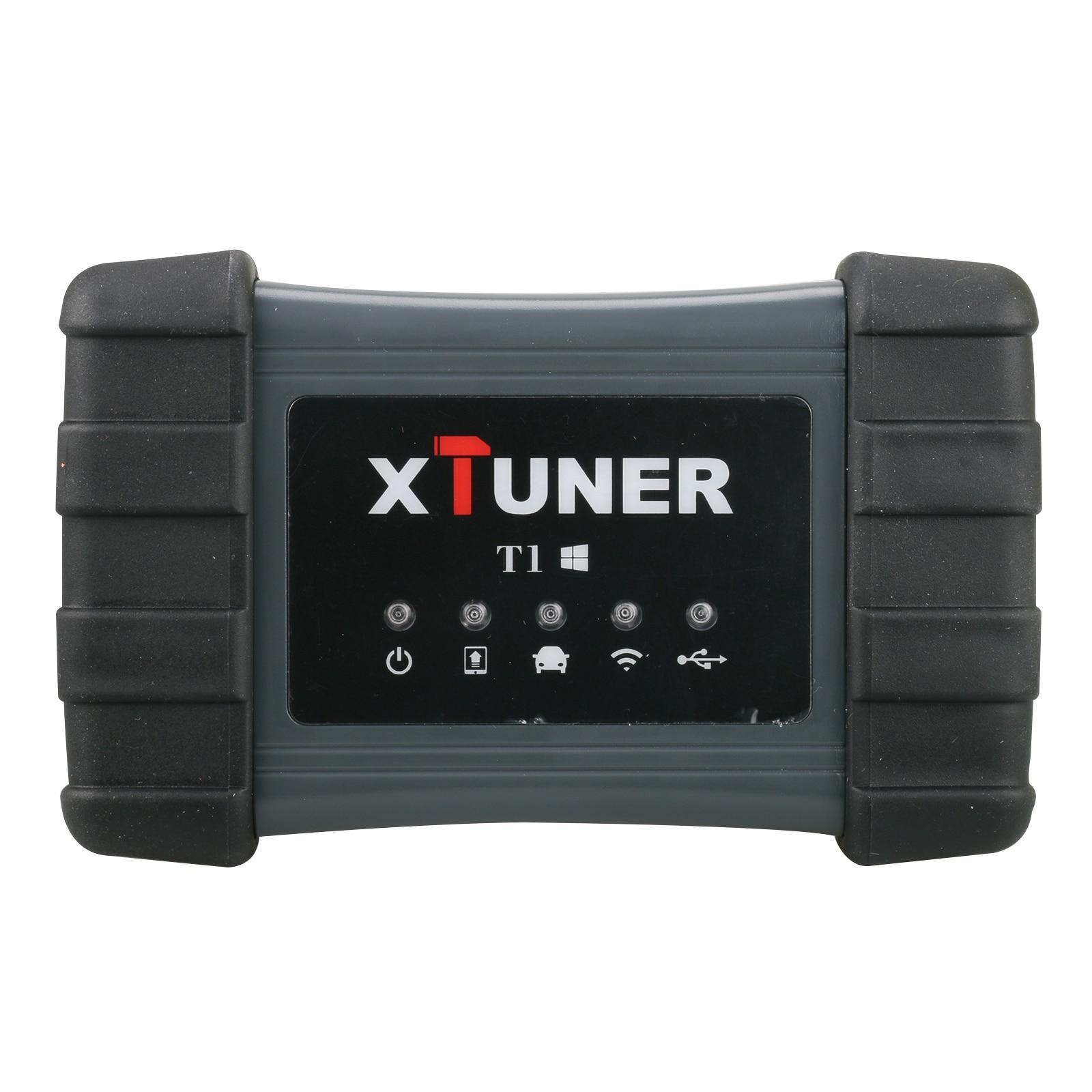 Новое поступление Бесплатная доставка XTUNER T1 тяжелых грузовых автомобилей Intelligent Auto инструмент диагностики Поддержка WI-FI Xtuner T1 HD Бесплатная ...