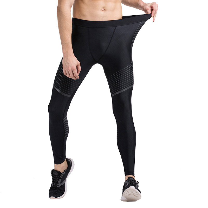 Men Compression Sports Pants Running Tights Dry Fit Base Layer Jogger Fitness Gym Mma Wear Bodybuilding Trousers Skinny Leggings
