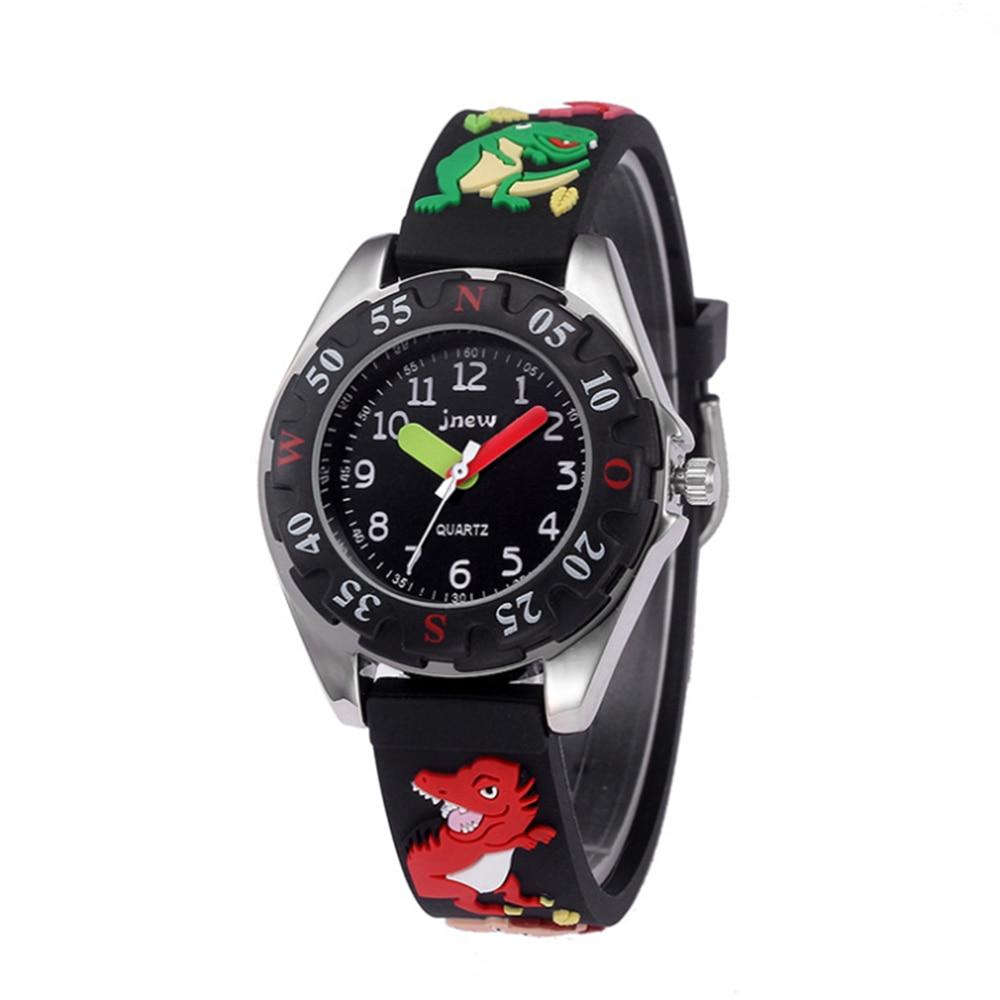 Children's cartoon watch Cool dinosaur waterproof quartz watch alloy Strap watch boys children's watches Children's jewelery