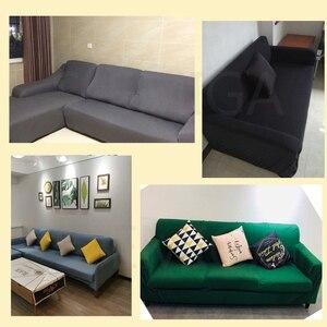Image 5 - אלסטי ספה ספה כיסוי חתך סלון ספה ריפוד כורסא ריהוט כיסוי, L צורת צריך לקנות 2 חתיכות