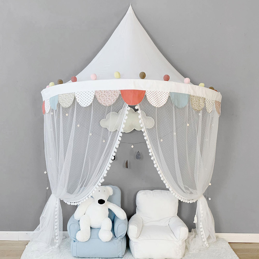 - Baby Mosquito Net Canopy Bed Curtain Baby Crib Netting Cot Kids
