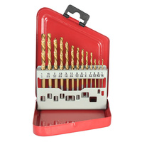 13pcs M2 HSS Drill Bit Set Left Handed Extractor Drill Bits For Metal Power Tools Accessories