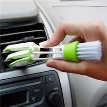 Пластиковая кисточка для пыли и грязи щетка для очистки автомобиля кондиционер щётка для вентиляционных штор Чистящая Щетка для машины аксессуары