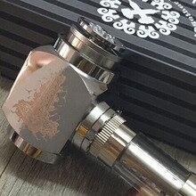 ค้อนอีพอควรท่อKitวิศวกรรมE-Pipeบุหรี่อิเล็กทรอนิกส์ด้วยV2เครื่องฉีดน้ำสแตนเลสE-pipeอิเล็กทรอนิกส์ชุดบุหรี่