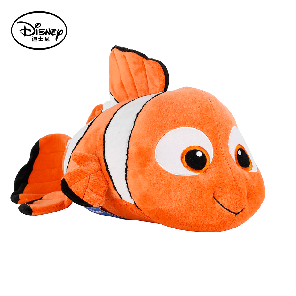 ФОТО Disney 40cm Nemo Plush Toy Stuffed Peluches Doll Multifunctional Toys Brinquedos With Rest Warm Blanket Children Cushion Gift