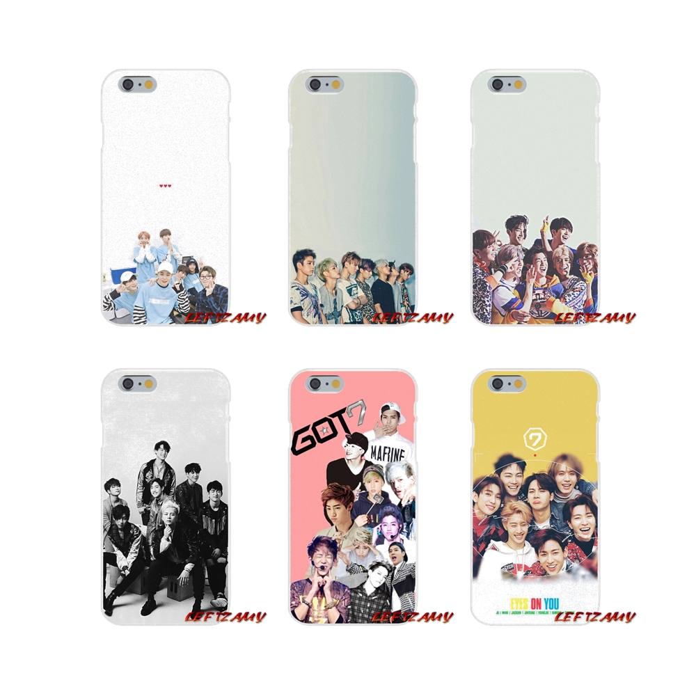 Silicone Phone Covers GOT7 Jackson JinYoung got font b 7 b font For Xiaomi Redmi Note