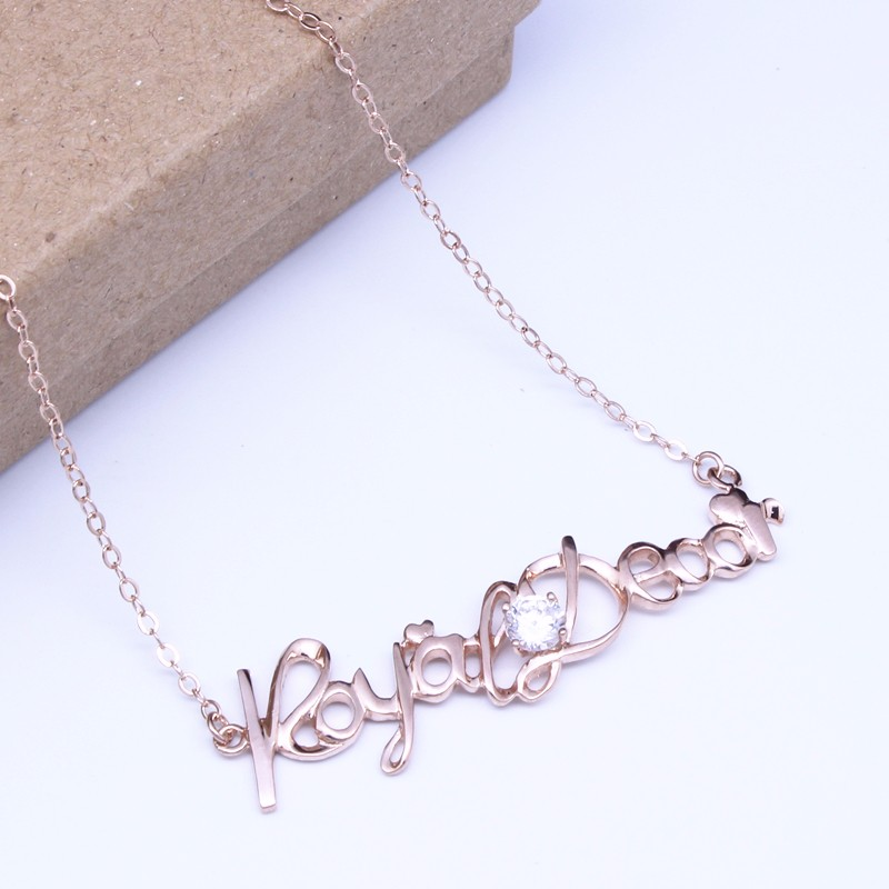 letter pendant necklace 2
