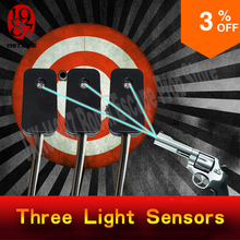 Escape room prop Three light sensors prop shooting the laser in the same time to unlock from JXKJ1987 for chamber room puzzle