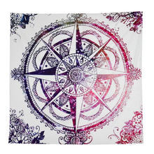 Newly Stylish Fashion Handicrunch Hippie Tribal Compass Tapestry Wall hanging Dorms Tapestries Beach Bohemian Scarf Cloth