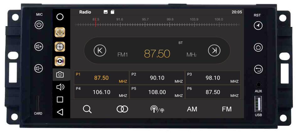 OTOJETA Летняя акция чистый андроид 8,0 автомобиль dvd для JEEP COMMANDER GRAND CHEROKEE с TDA7851 amplifer устройства Хорошее радио gps