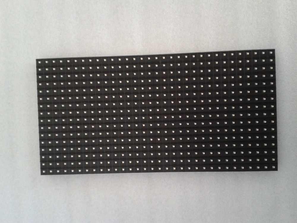 Module d'affichage mené par p10 1/4 balayez les modules menés polychromes de 16X32 CM smd 10mm