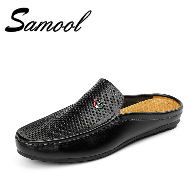 Mens Soft Leather Slip On Shoes