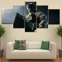 Rainbow Six Siege Voice Lines: Fuze 5 panel HD Print modern Modular Wall posters Canvas Art painting For home living room decor