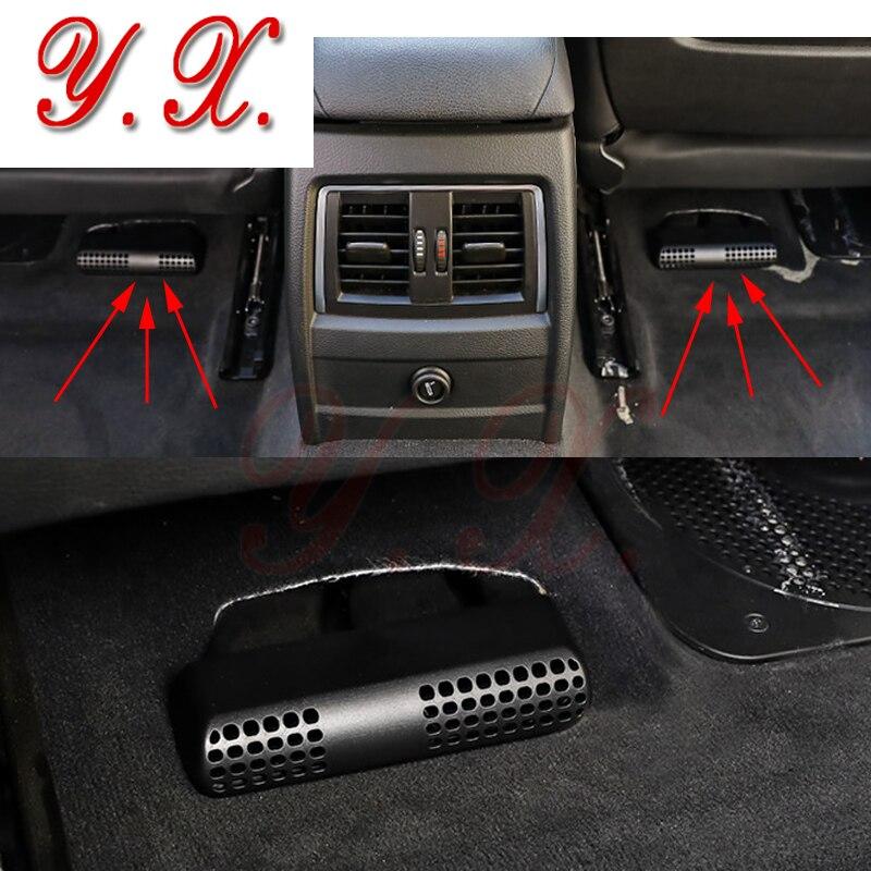 Car styling Sticker For BMW Air Outlet Dust Cover Protective Stickers For BMW E36 E46 E90 F30 3 Series GT Sticker Accessories soarhorse car rear trunk lid emblem badge chrome letters 320i 325i 328i 330i 335i sticker for bmw 3 series e30 e36 e46 f30 e90