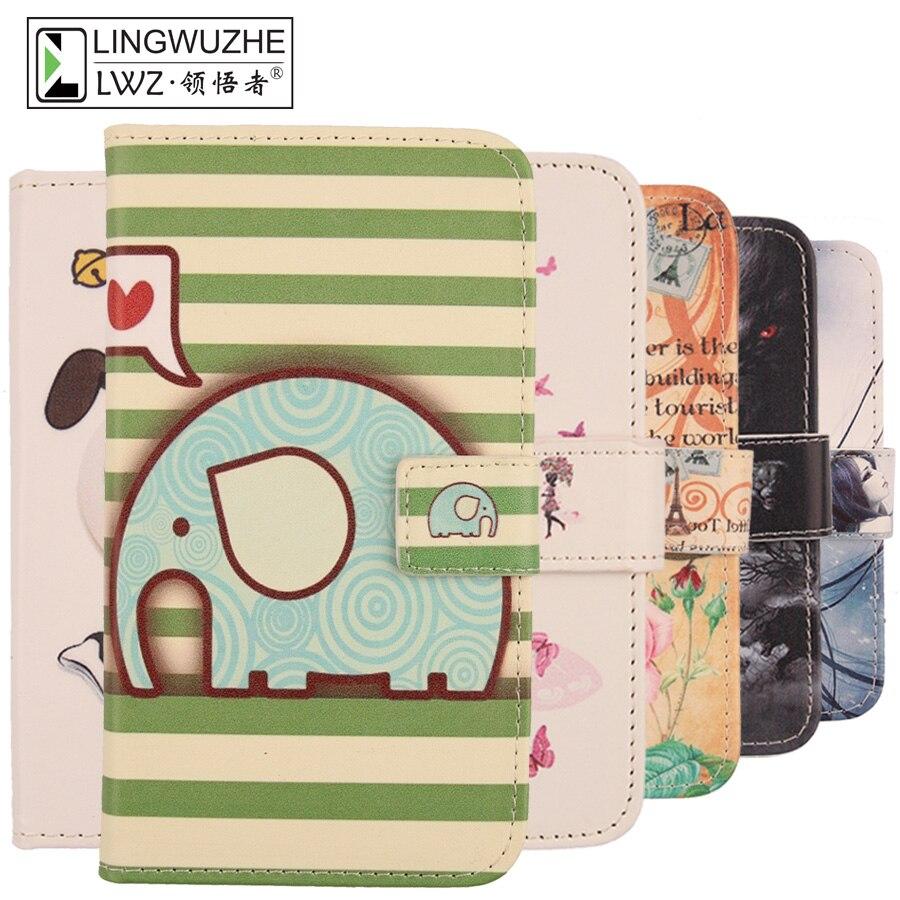 For Prestigio MultiPhone Grace Q5 5506 Duo Case Flip Leather Cover Mobile Phone Case For Prestigio MultiPhone Grace Q5 5506 Duo