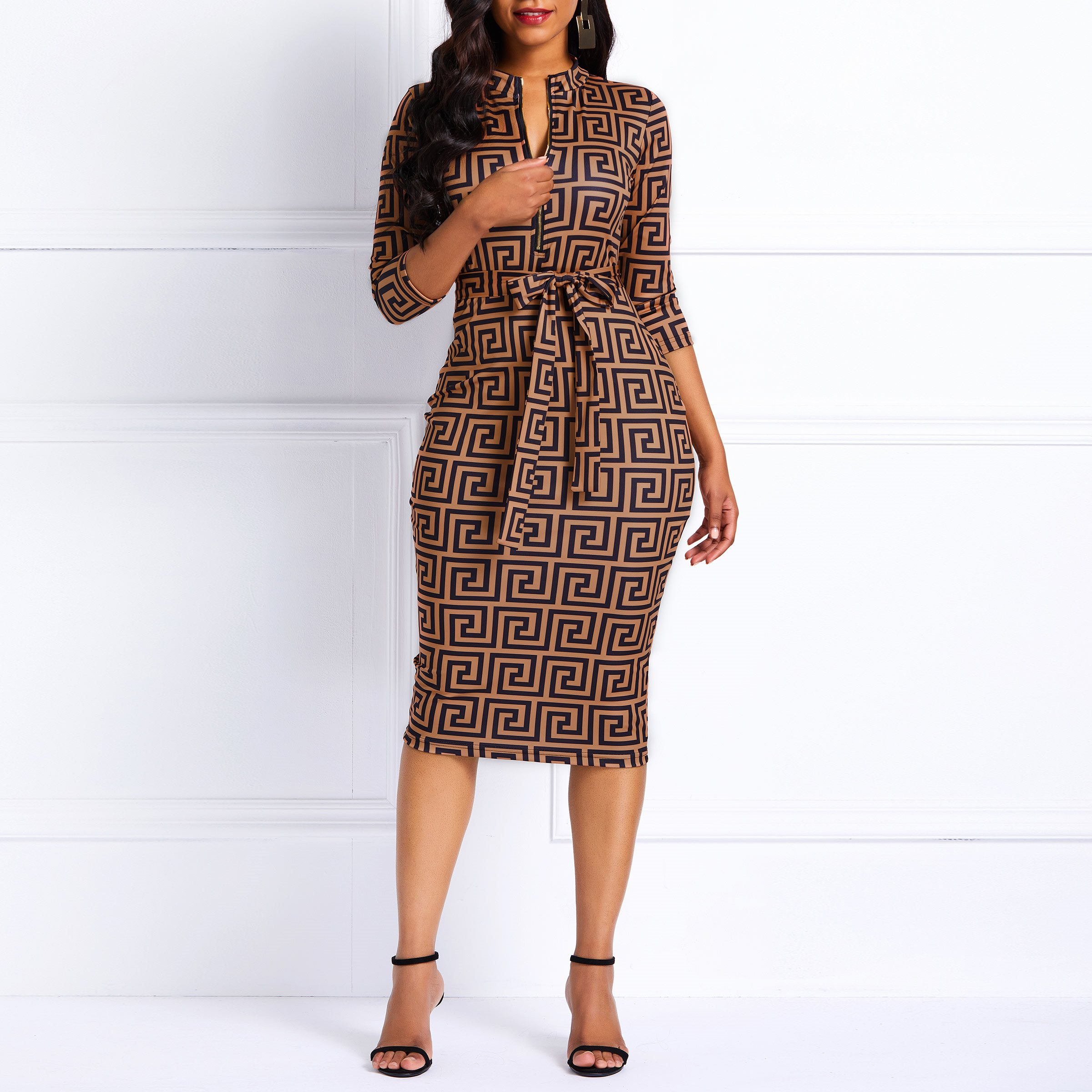 2c7e370ab05 Casual dresses are the most commonly seen dresses for women among all  clothing. A pair of gold dresses can make woman look soft and charming more  than any ...