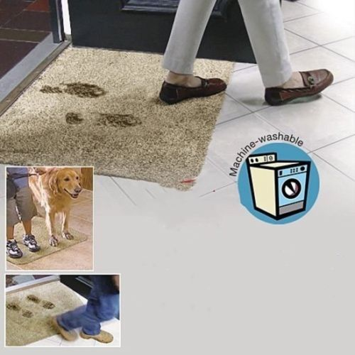 Drop Shipping Hot Sell On Amazon Super Absorbant Magic Door Mat Microfibre Mat Washable Doormat