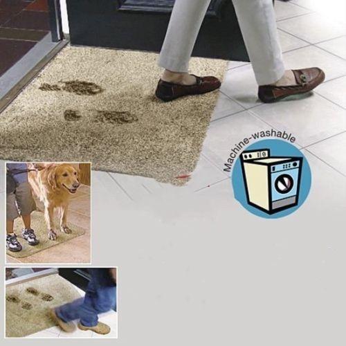 Drop Shipping Hot Sell On Amazon Super Absorbant Magic Door Mat Microfibre Mat Washable Doormat
