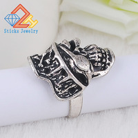 Skull Ring Stainless Steel Ring High Quality Fashion Biker Personality Men Jewelry Halloween gift