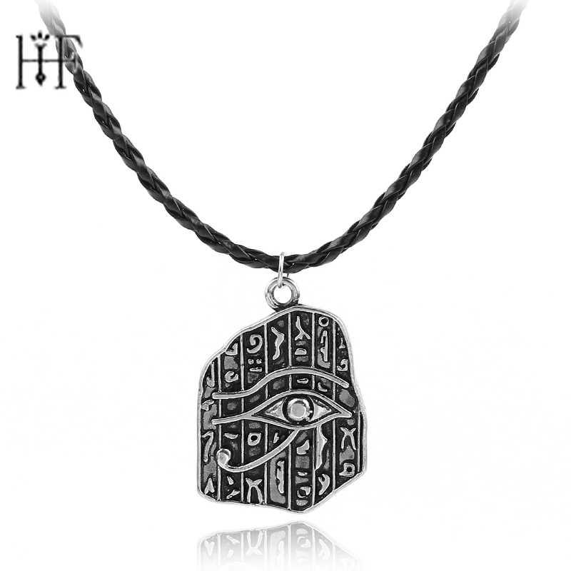 Ожерелье с кулоном в виде древней рухи, египетского глаза хора