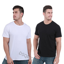 DSQICOND2 Summer Fashion Cotton Casual Funny T-shirt Men Short Sleeves Hipster Cool Tops Tees Solid T Shirt for Male Couple
