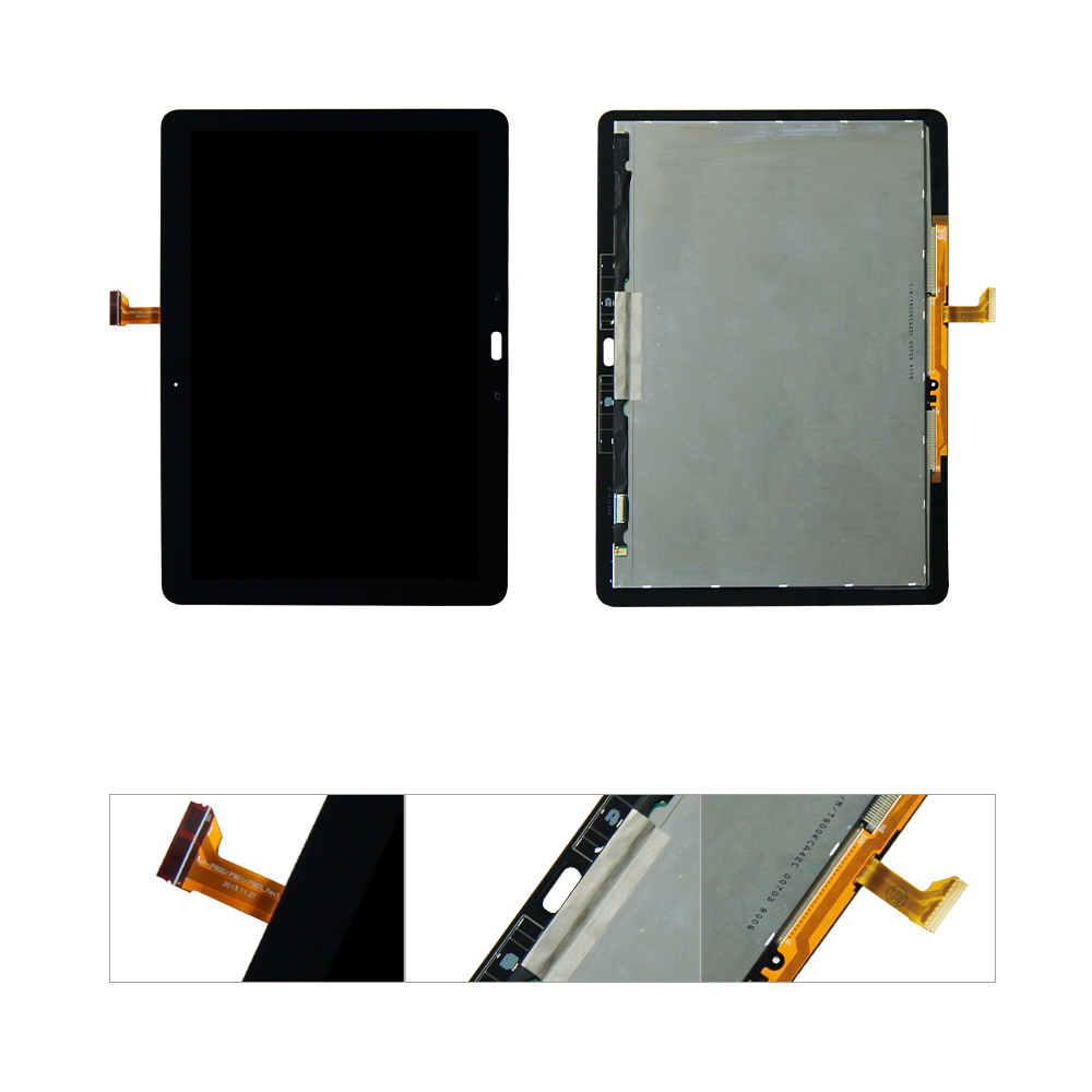 For Samsung Galaxy Tab Pro T900 SM-T900 LCD Display Touch Screen Digitizer Assembly Replacement high quality lcd for samsung galaxy e5 e500 e5000 e500f e500m e500h e500hq lcd display touch screen digitizer assembly repair