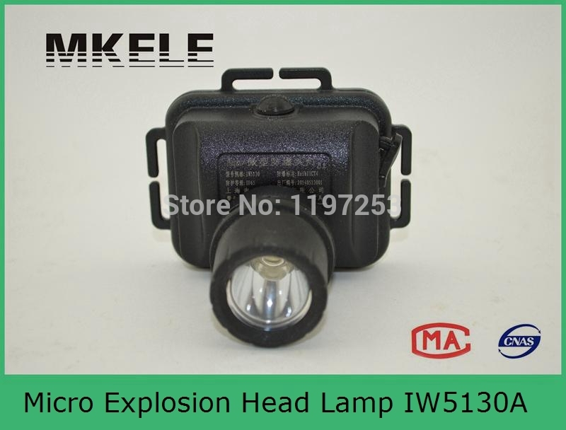 IW5130A micro explosion head lights,explosion proof flashlight,tiger head flashlight mi b2y iw