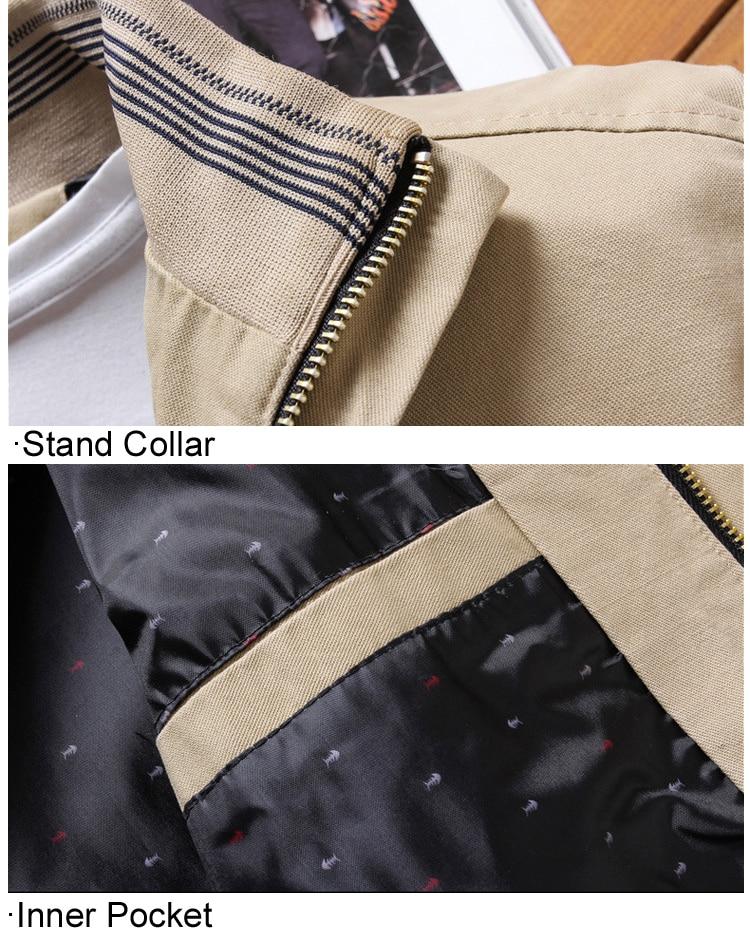 HTB1yJlCOkzoK1RjSZFlq6yi4VXai DIMUSI Spring Autumn Men's Bomber Jackets Casual Male Outwear Windbreaker Stand Collar Jacket Mens Baseball Slim Coats 5XL,YA810
