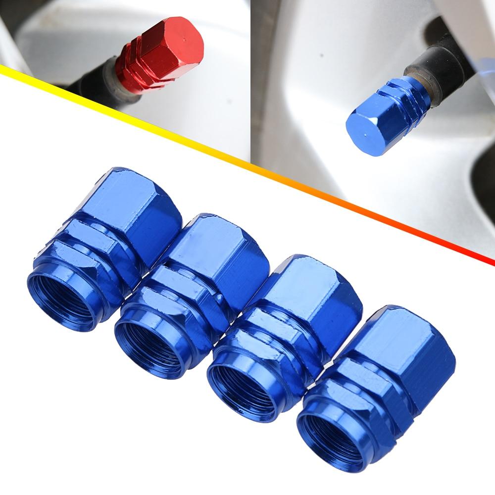 4Pcs/Set Car Tire Valve Stem Caps Theftproof Valve Caps Car Wheel Tires Valves Tyre Stem Air Caps Airtight Cover Accessoire