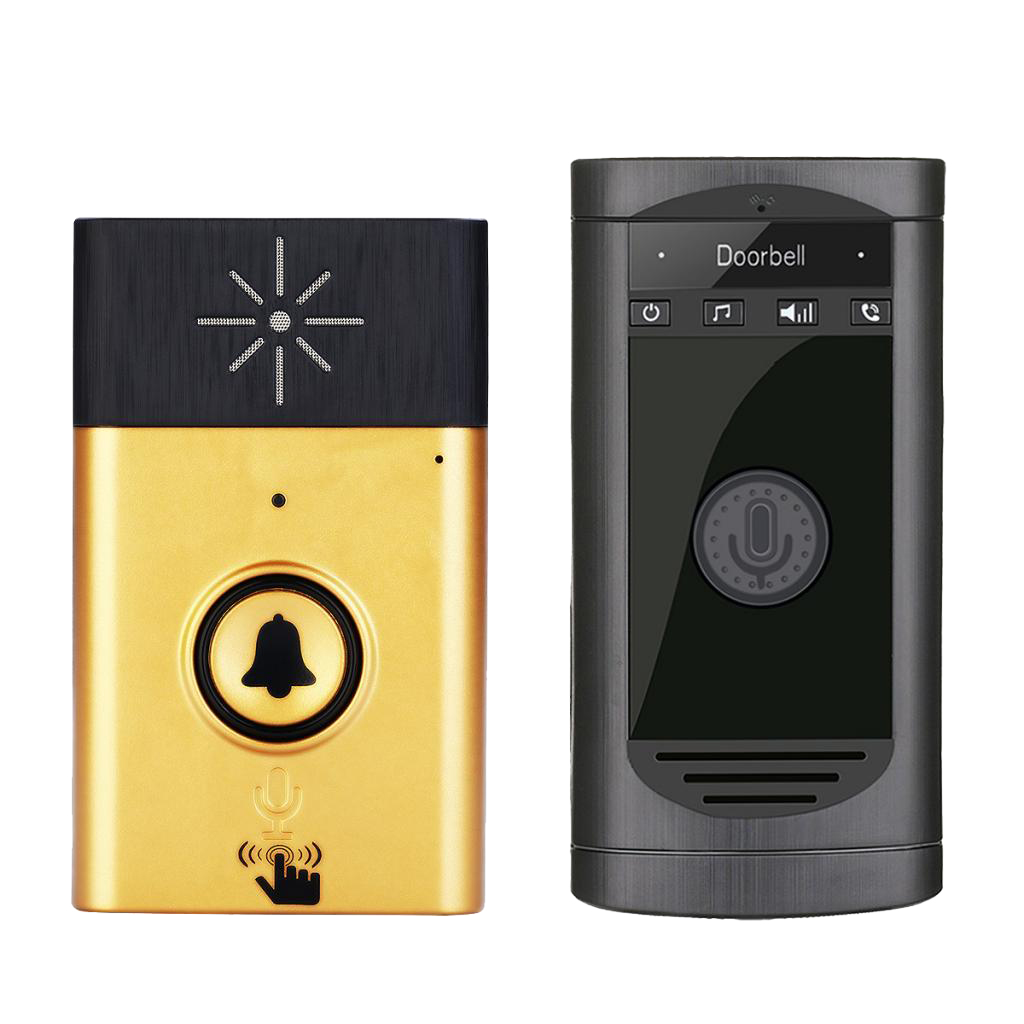 Wireless Doorbell Voice Door Intercom 15 Melodies Tunes Monitor Guard Chime Bell Ding Dong Ringer 4 Levels Volume Adjusts семейные футболки ding dong 505 15
