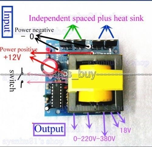 Tracking number DC-AC Converter 12V to 220V 380V 18V AC 500W Inverter Boost Board Transformer Power Car Converter contributions to combinatorial number theory
