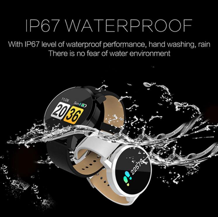 NAIKU Q8 Smart Watch OLED Color Screen men Fashion Fitness Tracker Heart Rate Blood Pressure Oxygen Smartwatch 2