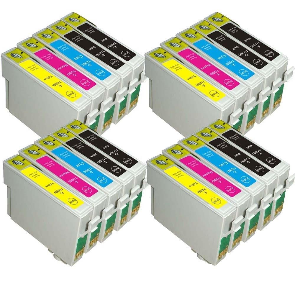 20x Compatible Ink Cartridge T0715 For Epson SX215 SX515W BX300f SX415 SX218 SX115 SX400 SX105 SX215 D120 D78 D92 DX4000