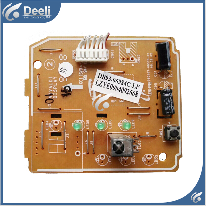95% new good working for air conditioning board Receiving plate DB93-06984C-LF circuit board 95% new used for air conditioning computer board circuit board db93 02482a db41 00175a db93 02483a good working