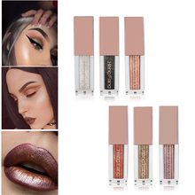 Hengfang Metal Liquid Eyeshadow Glitter Eye Shadow Liquid Shimmer Stick Beauty