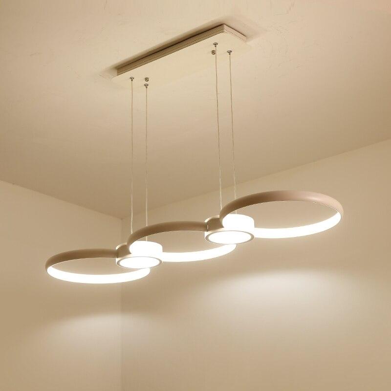 New Designer Modern Led Chandelier Kitchen Living Dinging Room Light Fixtures LED Hanging led Chandelier Lamp lustre de plafond
